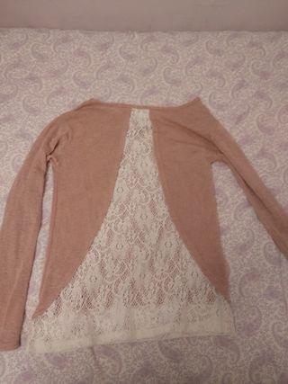 Camiseta rosa Bershka talla M