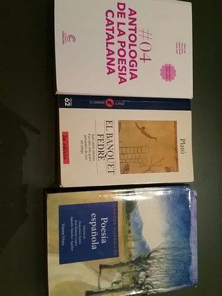 libros lectura bachillerato