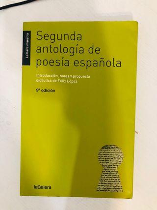 Libro SEGUNDA ANTOLOGÍA DE LA POESÍA ESPAÑOLA