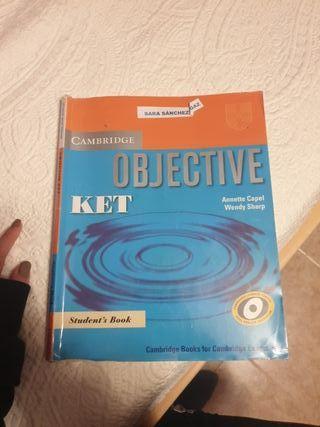 libro inglés ket objective cambrige