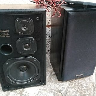 Altavoces vintage TECHNICS sonido COJONUDO años 60