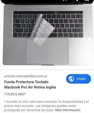Funda protectora teclado de ordenador apple
