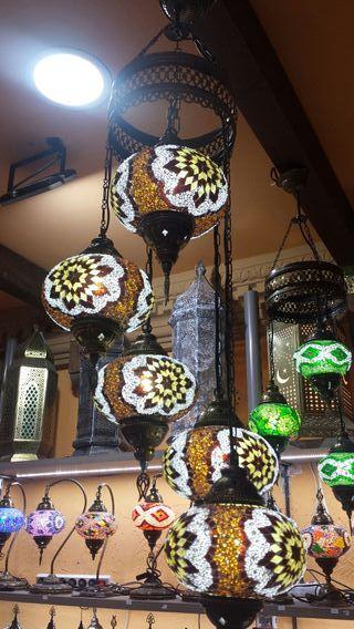 Lámpara turca de techo 3 3