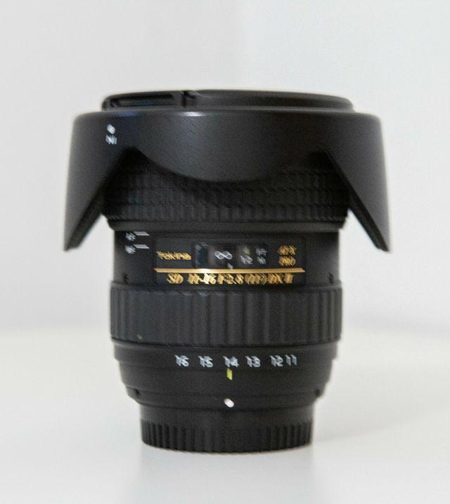 objetivo Tokina 11-16mm 2.8 para Nikon