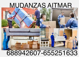 Transportes y mudanza AITMAR presupuesto gratis