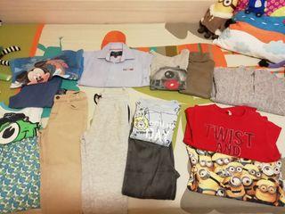Lote ropa nene 3 años