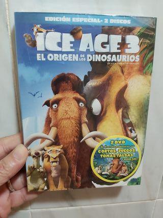 ICE AGE 3. (EL ORIGEN DE LOS DINOSAURIOS)