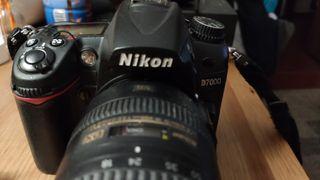 kit Nikon D7000 + objetivo Nikkor 18/200