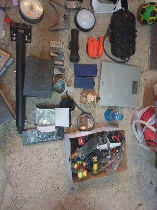 lote de objetos