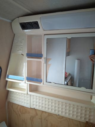 Mueble baño caravana