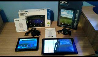 Lote 4 tablets Asus, Leotec y 2 Aqprox