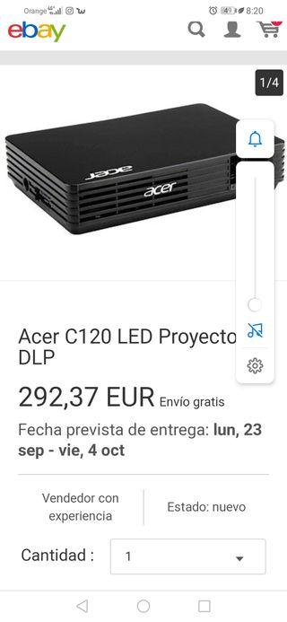 Modelo kit proyector Acer C120 LED
