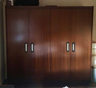 Armario ropero vintage habitación
