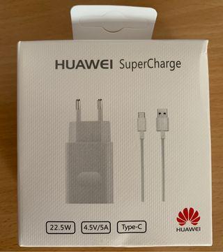 Nuevo Huawei Súper rápido Cargador Tipo c