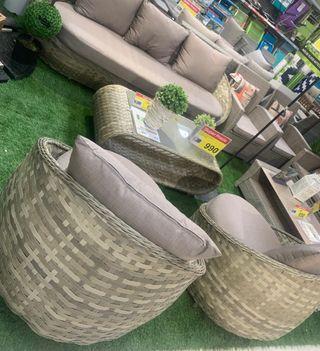 Muebles jardín a estrenar