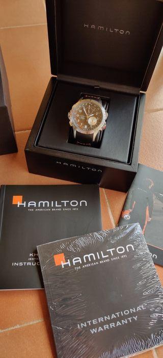 Reloj Hamilton khaki eto flyback chrono