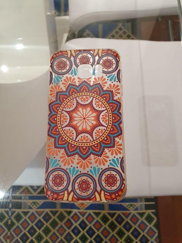 Funda silicona Samsung S7 edge