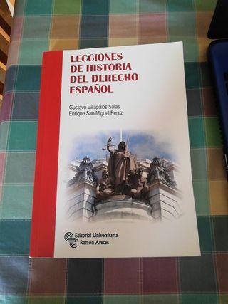 Lecciones de historia del derecho español Manuales