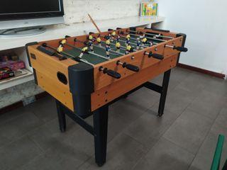 futbolin con ping pong, hockey y billar