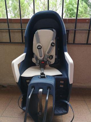 Silla bicicleta porta bebé Guppy Maxi (polisport)