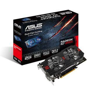 Tarjeta gráfica Asus AMD R7 250X