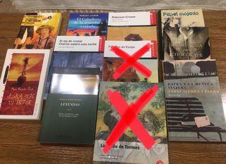 Libros de lectura de instituto en castellano