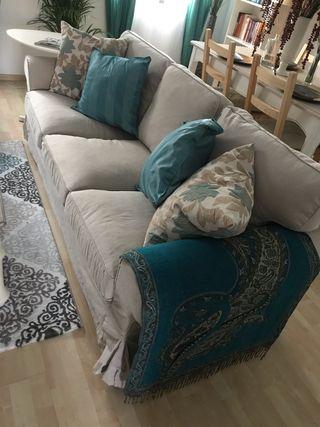 Sofá salón ikea y sofá cama