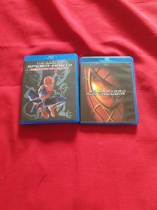Pack Spiderman Blu Ray