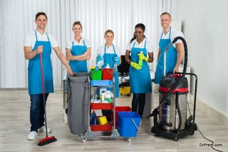 limpieza y mantenimiento comunidades , empresas