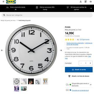 Reloj COCINA, DESPACHO, SALA...