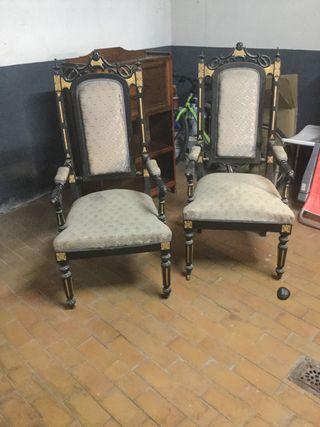 Sillas trono antiguas