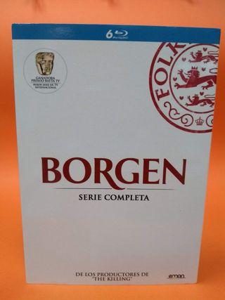 """""""BORGEN"""" SERIE COMPLETA BLU RAY"""