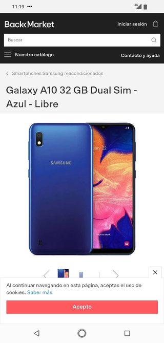 Nuevo Samsung A 10 2019