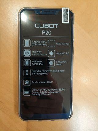 "NUEVO - Cubot P20 de 6.18"", 4GB Ram 64GB Rom"