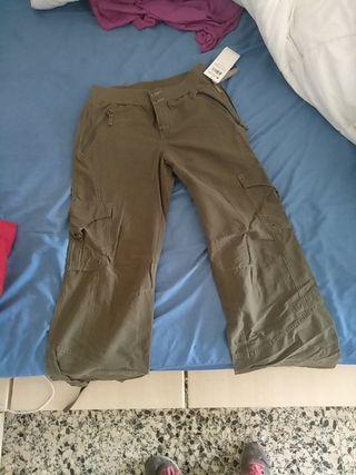 pantalones trekking Columbia mujer