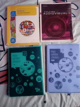 libros de 1° bachillerato Escuela de Arte, Histori