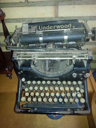 Maquina escribir Underwood
