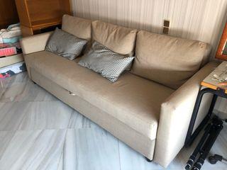 Sofá cama grande ikea como nuevo