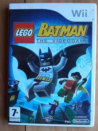 Juegos Wii (LEGO Batman El VideoJuego)