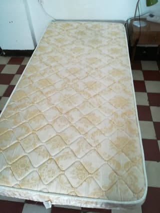 Colchón Flex. somier tapizado.