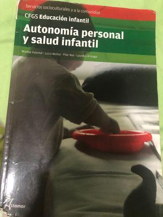 Libro de autonomía personal y salud infantil