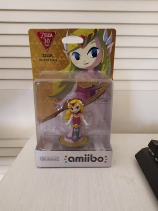 Figura Amiibo Zelda: The Wind Waker