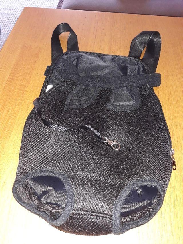 mochila porta perro