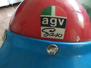 Casco moto Ossa AGV Vintage AUTENTICO ORIGINAL