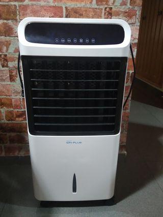 climatizador, purificador de aire y ventilador.
