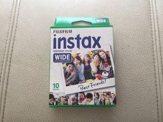 Paquete 10 fotos cámara instax fujifilm WIDE