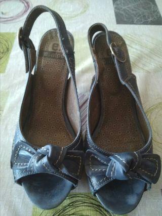 Zapato de tacón Azul Marino