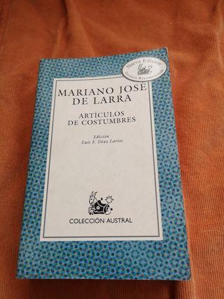 Artículos de costumbres de Mariano Jose de Larra
