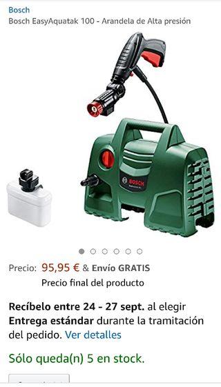 Hidrolimpiadora Easy Aquatak 100 Bosh Nueva