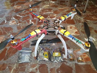 Frame + motores + esc + helices dron